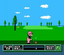NES Open Tournament Golf 2