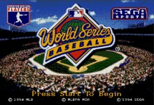 World Series Baseball