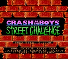Crash Boys Street Challenge