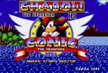 Shadow in sonic 1