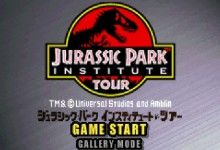 Jurassic Park - Institute Tour - Dinosaur Rescue